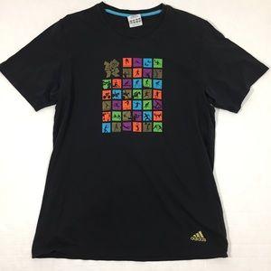 Men's Adidas Graphic T Shirt Top L